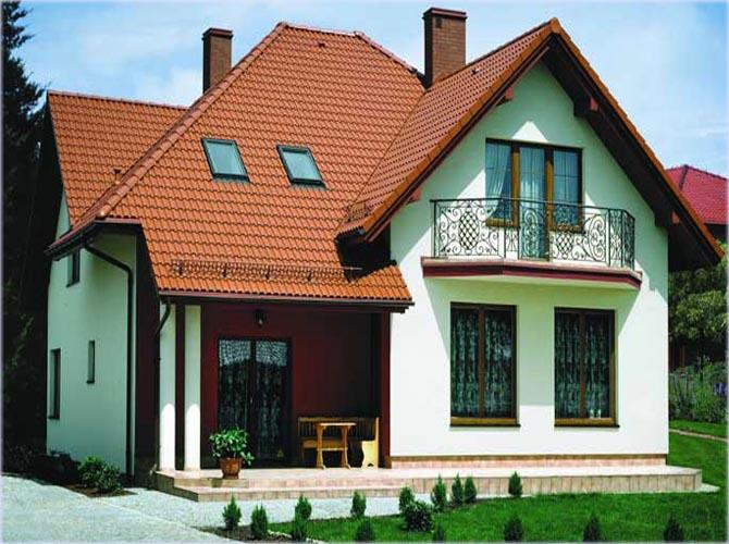 Gibaba каталог: цвет дома и крыши.
